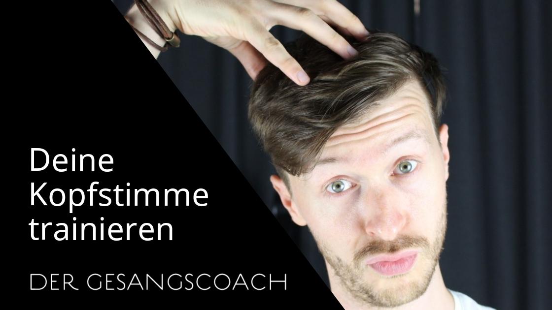Kopfstimme trainieren und finden
